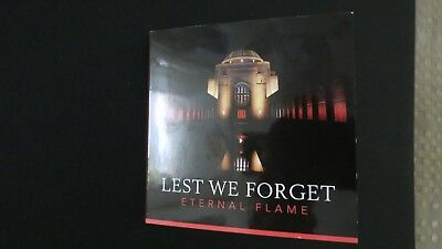 "2018 Lest We Forget Eternal Flame Colour ""c"" $2 Two Dollar Unc. Australia Coin"