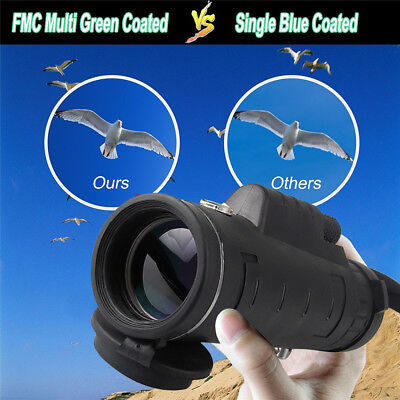 Ultra WaterProof Portable 40X60X Lens HD Monocular Telescope With Night Vision