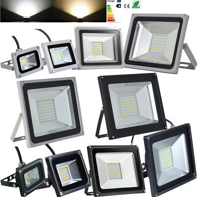 100W 50W 30W 20W 10W LED Floodlight Outdoor Security Lights Garden Lamp SMD 220V