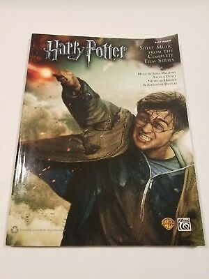 Harry Potter: Sheet Music From The Complete Film Series (Easy Piano Book)