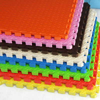 6/12PCS 30*30cm Home Gym Kids Play Interlocking EVA Soft Foam Exercise FloorMat