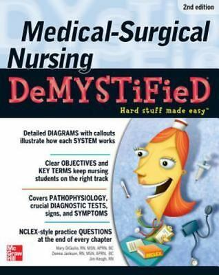 PDF Medical-Surgical Nursing Demystified (Demystified Nursing) PDF