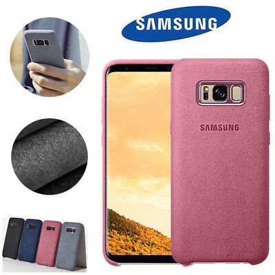 For Samsung Galaxy S8 S9 Plus Note 8 Case Original Luxury Protector Suede Cover