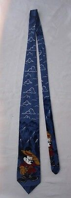 Mickey Mouse Tie - Camping Park Ranger Mickey Disney Made in Australia
