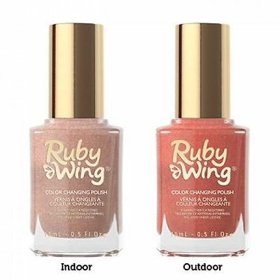 Color Club Ruby Wing Color Changing Nail Polish 0 5oz Chose Any One