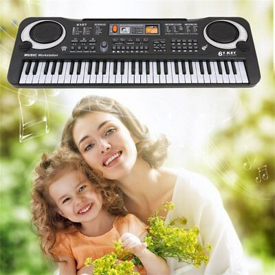 61 Keys Digital Music Electronic Keyboard Board Toy Gift Electric Piano F3