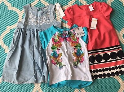 Girls Clothes Size 5 New With Tags. Eves Sister, Gymboree, Milkshake