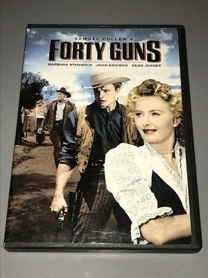 Forty Guns (DVD, 2005, Full Frame/Widescreen) Stanwyck  Samuel Fuller  Pre-Owned