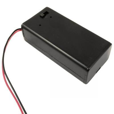 New with Wire Lead On/off Toggle Switch 9V PP3 Battery Holder  DC Box Cover