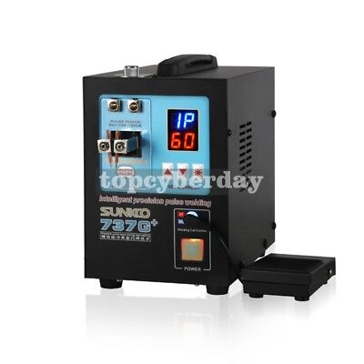 737G+ Spot Welder 110V 4.3KW Welding Machine + S-70BN Pen for 18650 Battery