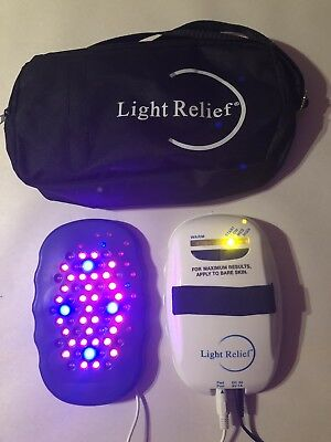 Light Relief LR150 Infrared Muscle Pain Relief Therapy Device + AC Power Adapter