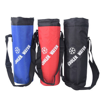 Water Bag Drawstring Water Bottle Pouch Insulated Cooler Bag Outdoor Travelin IO