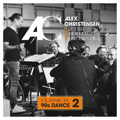 Alex Christensen & The Berlin Orchestra - Classical 90s Dance 2 CD NEU & OVP