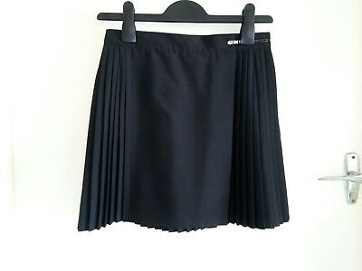 Girls School Uniform Sports Skirt. Black, size 14. Pre owned.