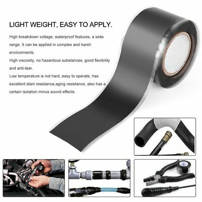 High Viscosity Self-adhesive Tape Self-fluxed Silicone Band Pipe Repair Tape -U
