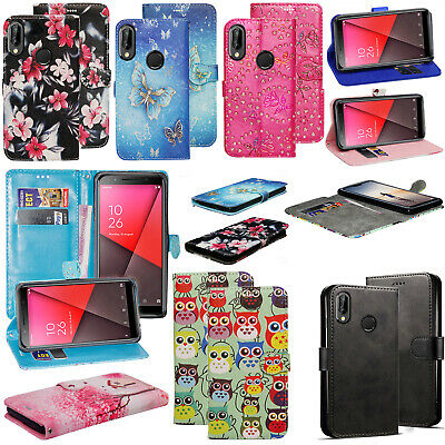 For Vodafone Smart X9 - New Genuine Leather Stand Flip Wallet Phone Case Cover