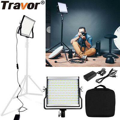 Travor Dimmable Bi-color LED Video Light Panel For Photography  Studio Cameras