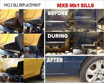 Mazda MX5 Sill replacement