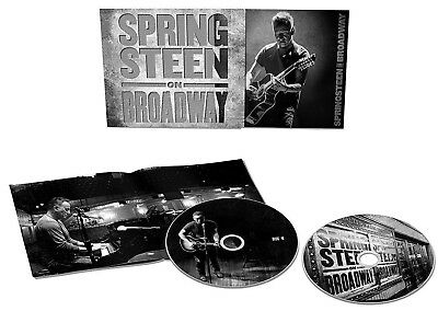 BRUCE SPRINGSTEEN CD x 2 On Broadway 2018 LIVE Performance Double CD NEW SEALED