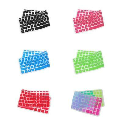 Prettyia 6x Silicone Thin Keyboard Skin Cover Protector for HP 15'' Laptop