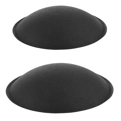 prettyia High Quality Subwoofer Bass Speaker Dust Cap Cover 130mm & 155mm