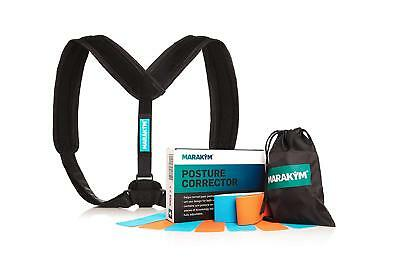 Posture Corrector Adjustable Clavicle Brace to Comfortably Improve Bad Back Pain