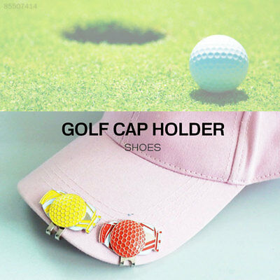 B989 Golf Cap Clip Magnetic Durable Decoration Outdoor Sign Gift Shoes Alloy
