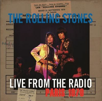 Rolling Stones  Live From The Radio Paris 1970  2015 Remaster  2Cd *f/s