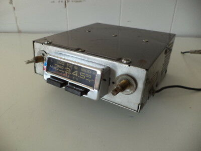 Philips N3X72V/10 6 Volts Car Radio 1957,used On 1957/1958 Porsche & Volkswagen