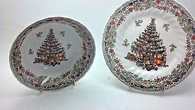 Queens China Seasons Greetings Bowl and Saucer,Discontinued