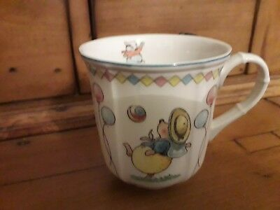 Villeroy & Boch Foxwood Tales Mug New Condition Rabbits Pattern