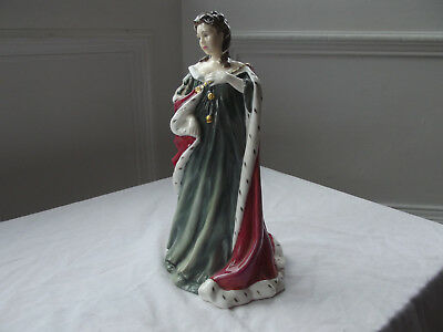 Rare Limited Edition Royal Doulton Figure Figurine QUEEN ANNE HN3141, PERFECT