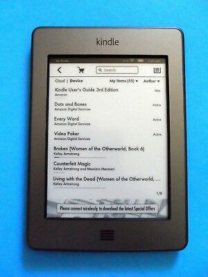 AMAZON KINDLE TOUCH 4th Generation WiFi 4GB 6