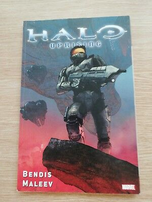 Halo Uprising by Bendis -  Maleev – Graphic Novel ( marvel )