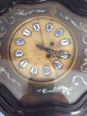 Antique French Vineyard Clock