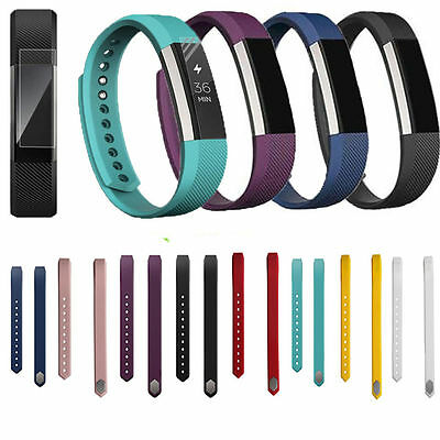 Silicone Replacement Watch Band Wrist Strap For Fitbit Alta Tracker Small Large