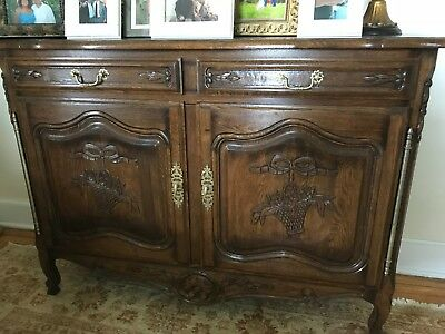 French country solid oak server/sideboard