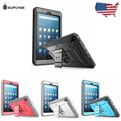 For Amazon Fire 7 (7th Generation) Tablet Case, SUPCASE Full Cover w/ Screen NEW