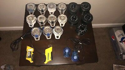 Exaktime system 11Job Clocks total, 6 Jobclock/EX model 102 & 5 TVS001