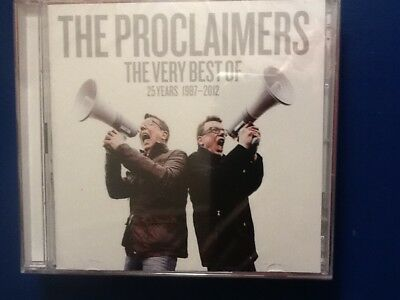 Proclaimers.       Very. Best Of.  The. Proclaimers.         Two. Compact Discs