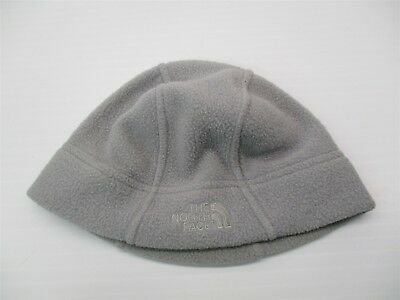 8090c62acf6 THE NORTH FACE Hat Women s Size M Lightweight Light Gray Fleece Beanie A28