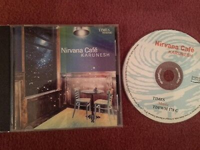 "Karunesh  ""Nirvana Cafe"" Times Music CD - 2002 India Import VGC"
