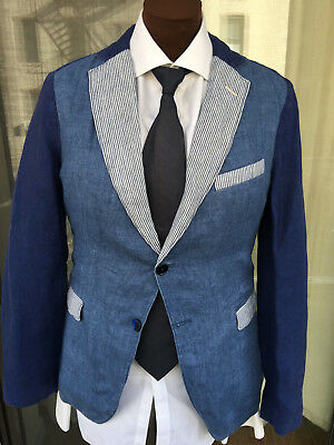 new concept 02d03 165f1 Men s Gant Rugger Linen Sport Coat Jacket 38 Regular 38R