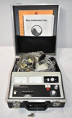 Madsen Impedence Audiometer ZS 76-1B