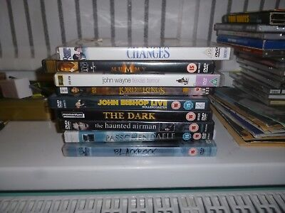 JOB LOT 18 DVD's Lord of the Rings, Twilight, Hunger Games