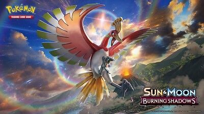 50x Pokemon Sun & Moon Burning Shadows PTCGO TCG Online Codes EMAIL in 24 HOURS