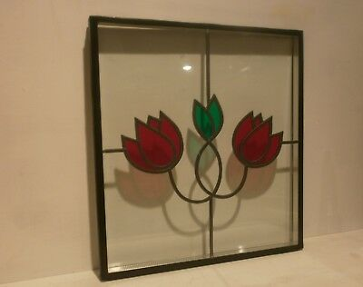 Double glazed stained glass