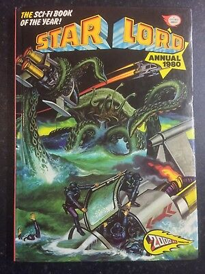 STAR LORD Annual 1980- Very Good Condition - Hardback Book (2000AD)