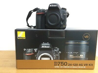 Nikon D750 Digital SLR Camera Body Only with box