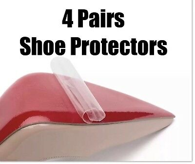 4 Pairs christian louboutin shoe sole protector Protective Clear Film Red Sole
